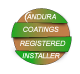 Andura Coatings Registered Installers Logo